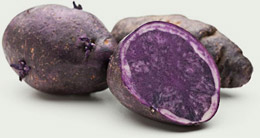 nutrition value of purple potatoes